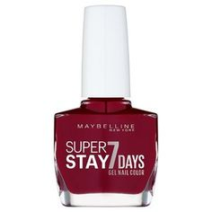 Can Wine Be Shipped To Oklahoma Refferal: 1206546899 Maybelline Nail Polish, Maybelline Makeup, Red Nail Polish, Dot Nail Art, Polka Dot Nails, Wine Nails, Gel Nails, Deep Red Nails, Stained Nails
