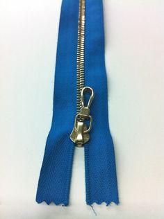 2 Way Separating Zipper -  24in RIRI M4 Brass. $7.95, via Etsy.