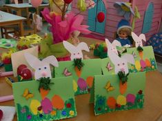 Crafts,Actvities and Worksheets for Preschool,Toddler and Kindergarten.Lots of worksheets and coloring pages. Mother's Day Projects, Easter Projects, Craft Projects For Kids, Easter Crafts For Kids, Easter Art, Easter Bunny, Tree Crafts, Diy And Crafts, Easter Activities
