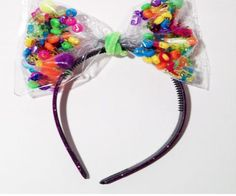 Candy Headband via Etsy