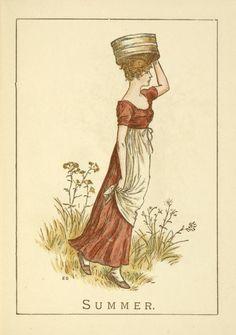 Summer - Kate Greenaway's Almanack for 1895