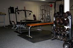 Weight Training Equipment :D