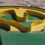mini golf and putt putt obstacles for all types of miniature golf courses Miniature Golf, Putt Putt, Golf Courses, Layout, Heart, Dolphins, Page Layout, Hearts