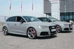 Audi RS3 Nardo Grey F34 Pair (1)