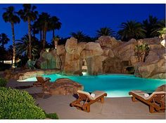 When decorating a dream backyard, it appears that a number of you desire to get a pool over there. The major pool is split in half whatsoever times to permit for lane swimming on a single side and family swimming… Continue Reading → Luxury Swimming Pools, Luxury Pools, Indoor Swimming Pools, Dream Pools, Lazy River Pool, Las Vegas Homes, My Pool, Pool Spa, Beautiful Pools