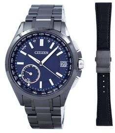 6b92a1071ec Citizen Attesa Eco-Drive Satellite Wave Perpetual Calendar Japan Made GPS  CC3015-57L Gents