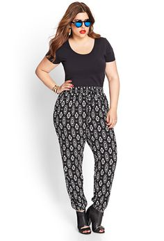 Spotted Geo Joggers | FOREVER21+