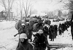 "5sswiking: ""German forces near Moscow in December 1941. """