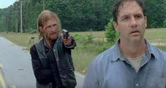 Dwight and Gordon - The Walking Dead, AMC
