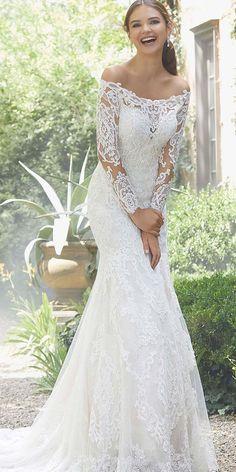 03bdf221a167 91 Best Lace trumpet wedding dress images | Alon livne wedding ...