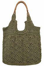 NexStitch™ Handbag Crochet Patterns : Metedeconk Tote Crochet Pattern
