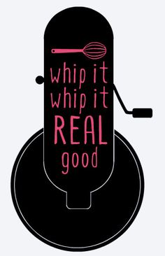 Whip It Kitchen Aid Mixer Decal by DecalMeNow on Etsy