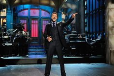Justin Timberlake returns to Studio 8H to host Saturday Night Live for the fifth time on March 9, 2013! He'll also be the musical guest. #SNL
