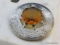 1977 William Johnson & Sons Sterling Brooch by DecoratingYourself, $51.00