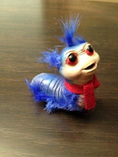 Labyrinth worm on Etsy, $39.00  He must be mine!  He is sold! Big Fat Sad Face!