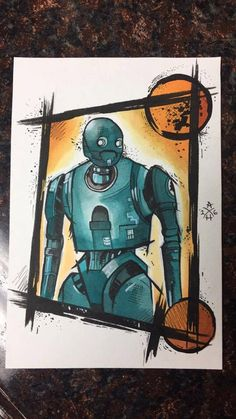 K-2SO Rogue One by Hansontattoo on Etsy