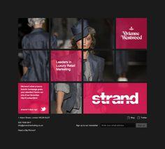 Strand Marketing Website