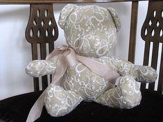 Selbstgemachter Teddybär