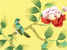 Chinoiserie Papers » Batavia | Griffin & Wong | Elegance in Silk Hand Painted Wallpaper Design