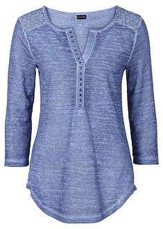 T-shirts - Toppar - Mode - Dam - bonprix. Fashion Pants, Look Fashion, Fashion Outfits, Dress Shirts For Women, Blouses For Women, Shirts & Tops, Shirt Blouses, Cool Outfits, Casual Outfits