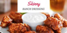 Quick and easy Ranch dressing recipe. Only three ingredients and with Weight Watchers points included. Whip it up for a salad or as a dip. via @midlifeblv