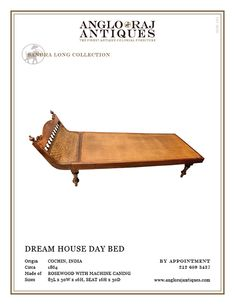 ANGLORAJ ANTIQUES | DAY BEDS