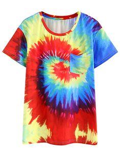 dfff658dc Womens Tie Dye Shirts, Tie Dye T Shirts, Man Shop, Ladies Dress Design,  Short Sleeves, Cute Tops, Tees, Womens Fashion, Casual Shirts