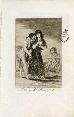7. Ni así la distingue Se ciegan tanto los hombres lujuriosos, que ni con lente distinguen que la Señora que obsequian es una ramera.
