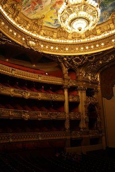 Ceiling of the Paris Opera (Garnier) by Marc Chagall.  Breathtaking.
