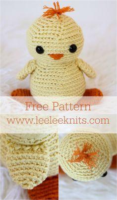 Baby Chick Crochet Pattern