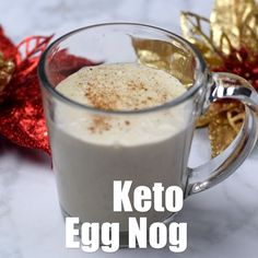 keto frappucino starbucks Keto Low-Carb Holiday Eggnog Drink is a quick and easy healthy recipe perfect for Thanksgiving, Christmas, and New Years. This keto-friendly beverage Eggnog Drinks, Yummy Drinks, Keto Holiday, Holiday Recipes, Low Carb Eggnog Recipe, Easy Healthy Recipes, Low Carb Recipes, Frappuccino, Frappe