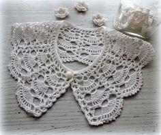 128 Best Häkelkragen Images On Pinterest Crochet Lace Collar