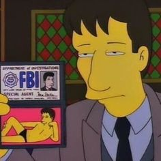 When the X-Files was on the Simpsons. Too funny! Especially with the Mulder speedo! Simpsons Quotes, The Simpsons, Simpsons Episodes, Fbi Special Agent, Dana Scully, David Duchovny, Comic, Homer Simpson, Futurama