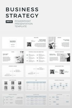 Business Strategy - PowerPoint Template A business strategy, in simple terms, is a documented plan on how an organization is setting out to achieve their goals. A business strategy contains a number Business Plan Layout, Writing A Business Plan, Business Plan Template, Business Planning, Strategy Business, Business Ppt, Business Ideas, The Plan, How To Plan
