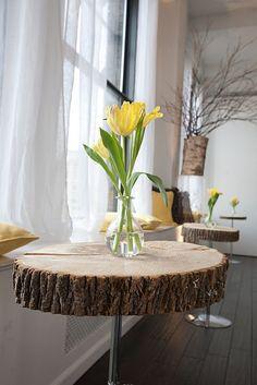 log table on pinterest rustic log furniture  log Unfinished Wood Seat Chair Unfinished Wood Seat Chair