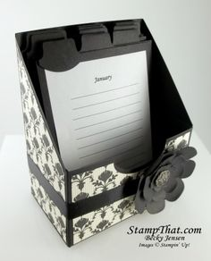 Special Occasions Card Organizer Tutorial for Sale