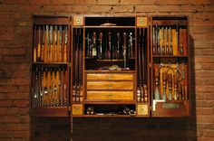 Carpenters Tool Cabinet | From a unique collection of antique and modern industrial furniture
