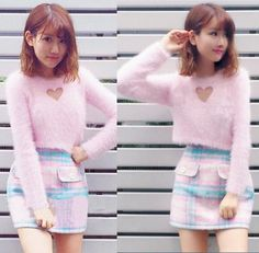 "Cute sweet hollow out wool sweater - Use the code ""batty"" at Sanrense for a 10% discount!"