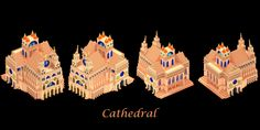 Cathedral on Voxel Art Store