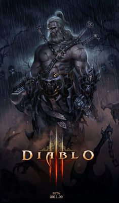 The Barbarian of Diablo I have waited this game for like an eternity! Can't wait to play it with my favorite barbarian! The Barbarian Fantasy Male, Fantasy Warrior, Dark Fantasy, Fantasy Rpg, Medieval Fantasy, Fantasy Concept Art, Fantasy Artwork, Video Game Characters, Fantasy Characters