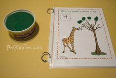 These Giraffe Play Dough Mats will help your students practice counting and fine motor skills. I have several new ideas sketched out for play dough math mats, and as I create them, I will add Math Classroom, Kindergarten Math, Classroom Activities, Teaching Math, Teaching Ideas, Early Learning, Fun Learning, Homeschool Math, Homeschooling