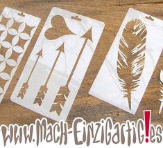 Eigene+Schablonen+in+PET+Folie+(Mylar)+von+Mach-Einzigartig.es+-+Einzigartiges+Material+zum+kreativen+(ver)+Arbeiten+auf+DaWanda.com
