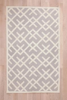 Cross-Hatch Dhurrie Rug from #urbanoutfitters