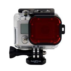 Polar Pro Aqua Red Filter for GoPro HERO Dive Housing | Digital Camera Warehouse