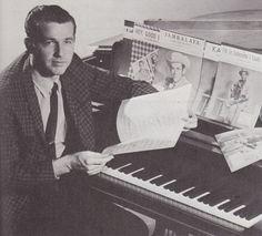 """Floyd Cramer-pianist-part of Owen Bradley's """"A-Team,"""" a group of session musicians who played on thousands of classic country records, including Cline's. He became a recording star himself, and is in the Country Music Hall of Fame."""