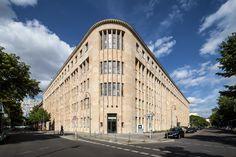 Berlin, Germany hotel near Potsdamer Platz combines design and historical architecture! Hotel Berlin, Potsdamer Platz, Brandenburg Gate, Historical Architecture, Berlin Germany, Street View, Exterior, Travel, Image