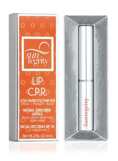 "Suntegrity Lip CPR is a Top Rated Sunscreen Lip Balm by the EWG/Skin Deep Cosmetic Safety Database! Received a Rating for ""Best Lip Balms with SPF"" in the EWG's 2016 Sunscreen Guide. Sunscreen Lip Balm, Spf Lip Balm, Best Lip Balm, Natural Sunscreen, 5 Free Nail Polish, Thing 1, Vitis Vinifera, Free Makeup, Beauty Essentials"