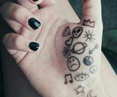 grunge doodles