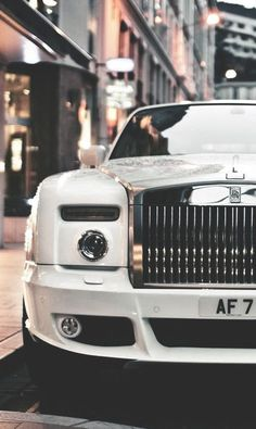 Rolls Royce. Showing simplicity with an edge.