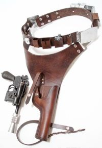 Han Solo cosplay holster (site has excellent pictures to help me figure out how to make this).